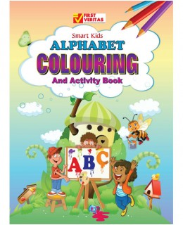 Abc colouring book for nursery schools