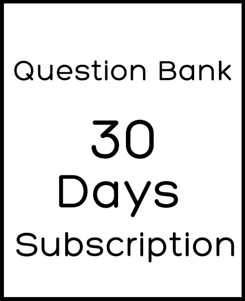 30 Days Subscription