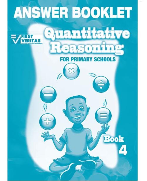 Quantitative Reasoning  for Primary Schools Answer Book 4