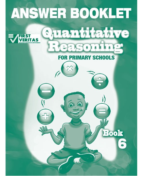Quantitative Reasoning  for Primary Schools Answer Book 6