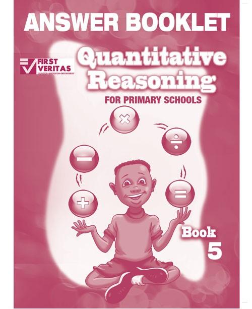 Quantitative Reasoning for Primary Schools Answer Book 5